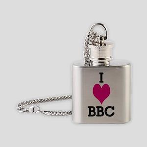 I Love BBC Shirt Flask Necklace