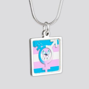 Transgender Butterfly Symbol Of Equality Necklaces