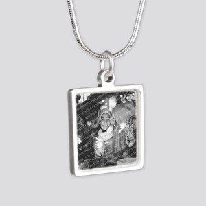 Add Your Photo Silver Square Necklace Necklaces
