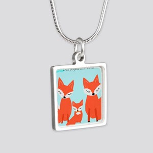 Fox family Necklaces