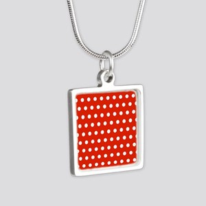 Red and White Polka Dots Necklaces