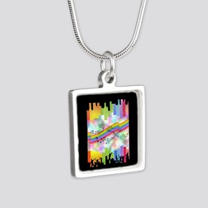 Colorful Musical Theme Necklaces