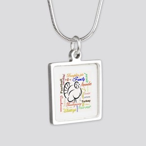 Thanksgiving words Necklaces