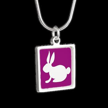 bunny necklace
