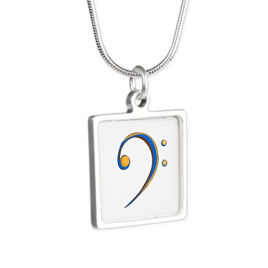 Bass Clef Casual Style Orange and Blue