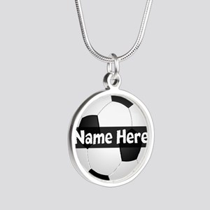 Personalized Soccer Ball Necklaces