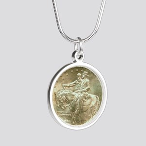 Stone Mountain Memorial Half Silver Round Necklace