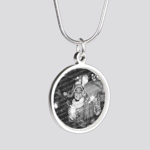Add Your Photo Silver Round Necklace Necklaces