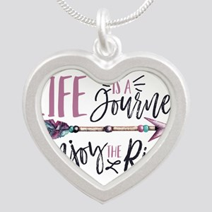 Life Is A journey Enjoy The Ride Necklaces