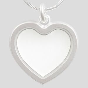 Mary Cassatt - Summertime Silver Heart Necklace