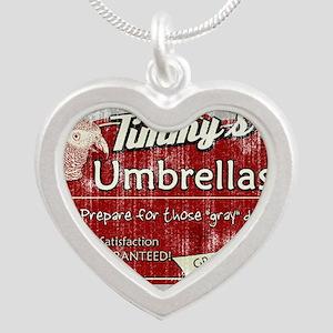 timmysumbrellas_magnet Silver Heart Necklace