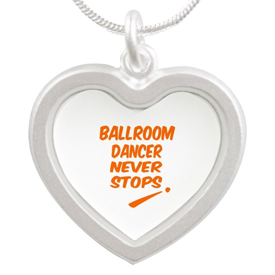 Ballroom Dancer Never Stops