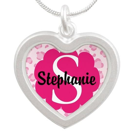 Personalized Pink Name Monogram Gift