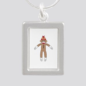 Sock Monkey Necklaces