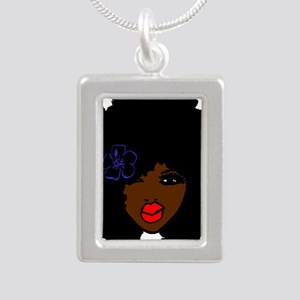BrownSkin Curly Afro Natural Hair???? Pi Necklaces