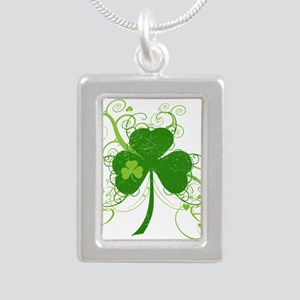 St Paddys Day Fancy Shamrock Necklaces