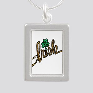 irish clover shamrock Necklaces