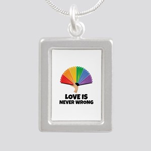 Love is always right Necklaces