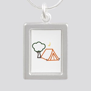 CAMPING APPLIQUE Necklaces