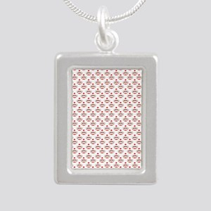 robinsampson_cu_papers_s Silver Portrait Necklace