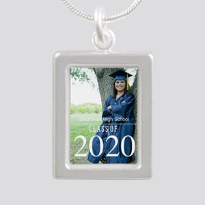 Custom Graduation Photo Class of 2017 Necklaces