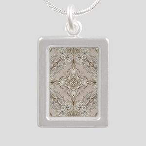 glamorous girly Rhinestone lace pearl Necklaces