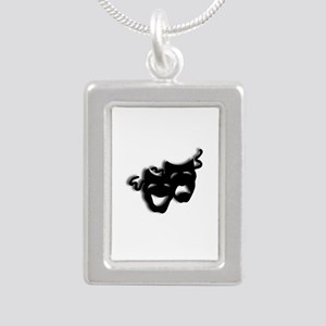 Comedy and Tragedy Theater Masks Necklaces