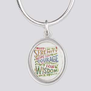 Serenity Prayer - Hand Lettered Necklaces