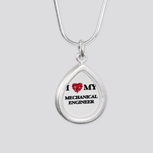 I love my Mechanical Engineer hearts design Silver
