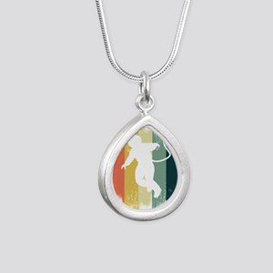 Retro Astronaut Outer Space Galaxy Fan A Necklaces