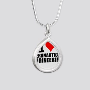 I Love Aeronautical Engineering Necklaces