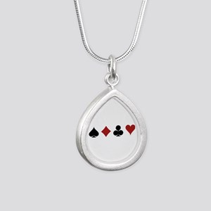 Four Card Suits Necklaces