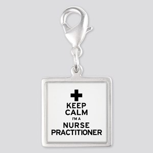 Keep Calm Nurse Practitioner Charms