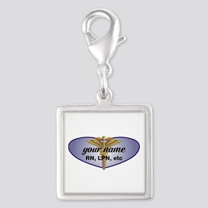 Personalized Nurse Charms