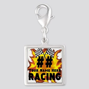 Flaming Racing Charms