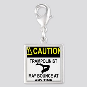 Caution Trampolinist Charms