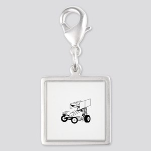 Sprint Car Outline Charms