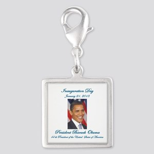 Inauguration Day Jan/21/2013 Silver Square Charm