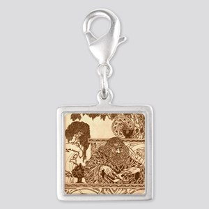 Druid Silver Square Charms - CafePress