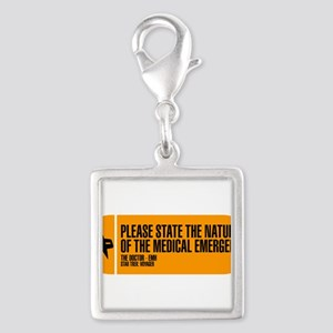 Nature of the Medical Emergen Silver Square Charm