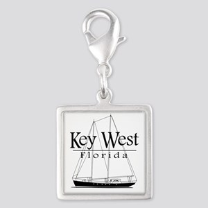Key West Sailing Black Charms