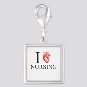 I Heart Nursing Charms