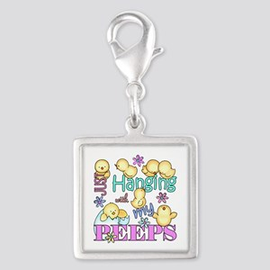 Just Hanging With My Peeps Charms