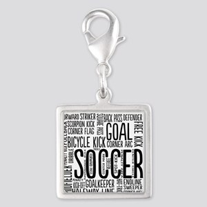 Soccer Word Cloud Charms