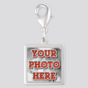 CUSTOM Your Photo Here Charms