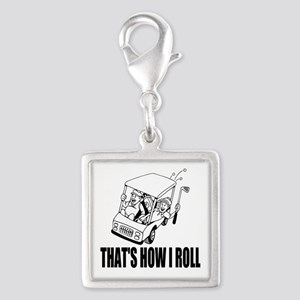 Funny Golf Quote Charms