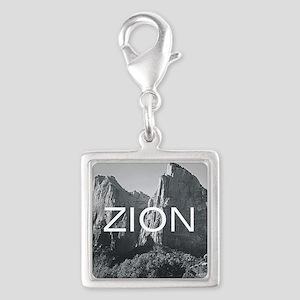 ABH Zion Silver Square Charm