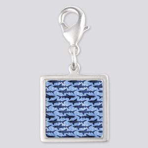 Sharks in the Blue Sea Charms