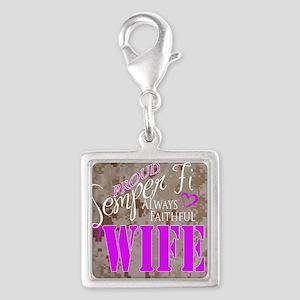 Semper Fi Marine Wife Charms