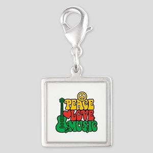 Reggae Peace Love Music Charms
